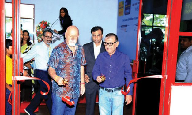 Maiden Screen Print Sri Lanka expo  gets encouraging response