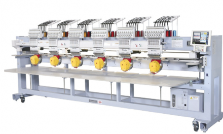 Barudan computerised embroidery machine