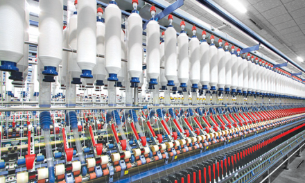 Shipments of new textile machinery in 2016 vary between segments