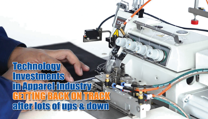 Technology Investments in Apparel industry Getting Back On Track after lots of ups & down