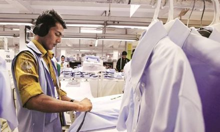 India's apparel exports fall 40 per cent in October 2017
