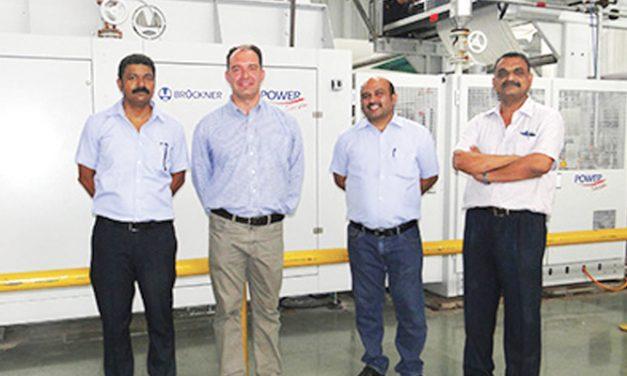 Morajee Textiles is very satisfied with Brückner sanforizing range