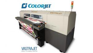 ColorJet to show its best-selling digital textile printer Vastrajet