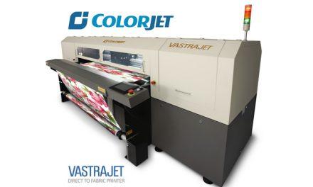 ColorJet to show its best-selling digital textile printer Vastrajet at ITMACH 2017