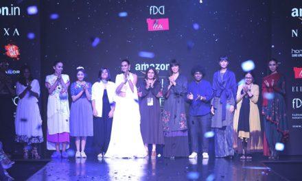 Liva salutes designer fraternity at Amazon India Fashion Week