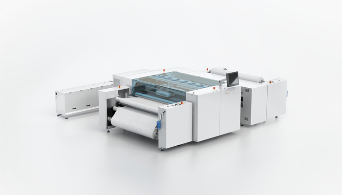 Ground breaking 8-colour digital textile printer by Mouvent