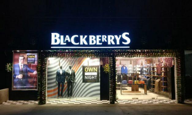 Menswear brand Blackberrys will have a new retail identity