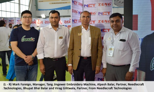 Needlecraft Technologies takes dealership of Tang Embroidery Machines