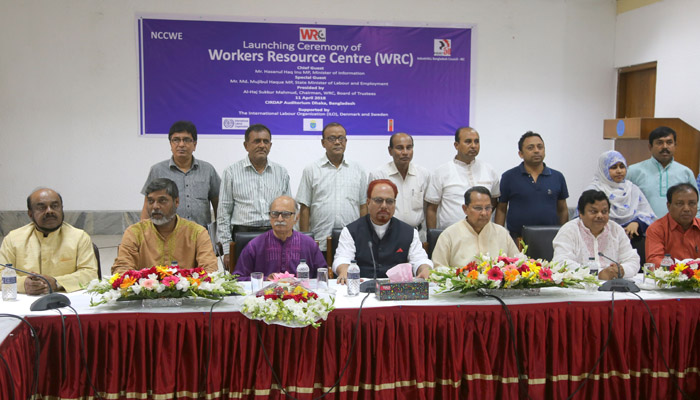 Workers Resource Centre to enhance capacity of trade unions in Bangladesh