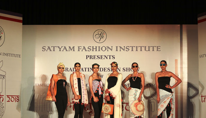 Budding designers of Satyam Fashion Institute showcase Women Power