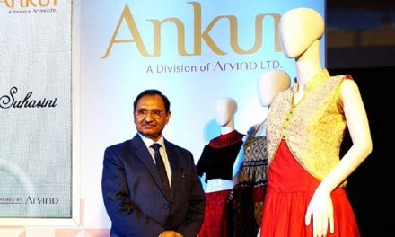 Ankur Textiles latest collection of multi-fibre fabrics for womenswear