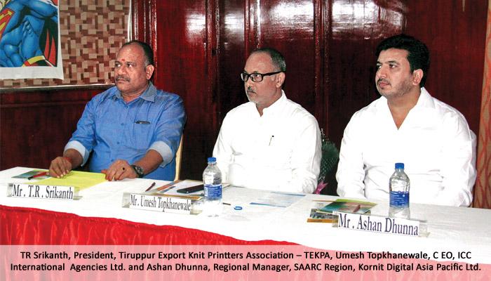 Kornit organises open house for printers in Tirupur