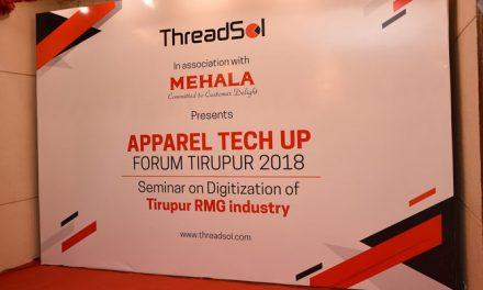 Threadsol oraganises 1st Apparel Tech Up India in Tirupur