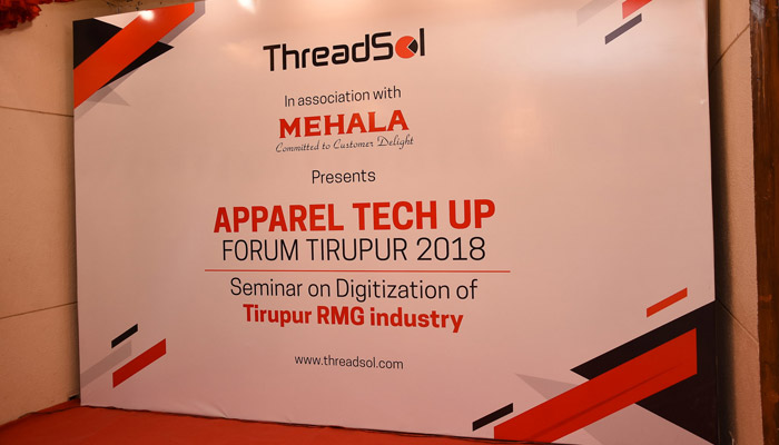 Threadsol oraganises 1st Apparel Tech Up India in Tirupur