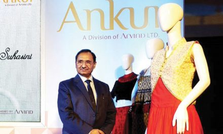 Ankur Textiles' latest collection of multifibre fabrics for womenswear