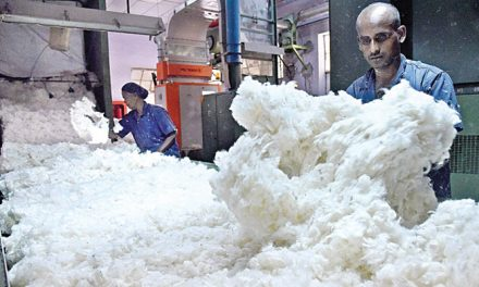 Drop in Chinese demand hurts cotton yarn exports