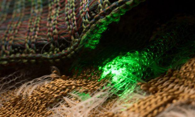 Electronics embedded washable textiles