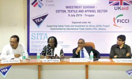 Ethiopia, Kenya, Uganda participate in Tirupur seminar