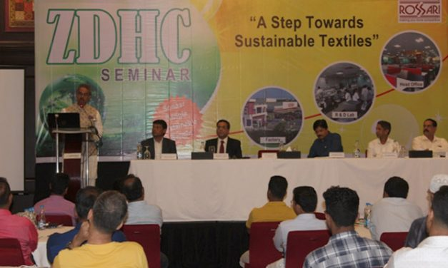 Rossari promotes sustainability through ZDHC seminar
