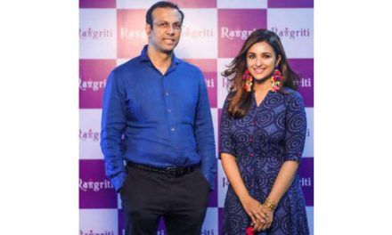 Rangriti Signs Parineeti Chopra as brand ambassador
