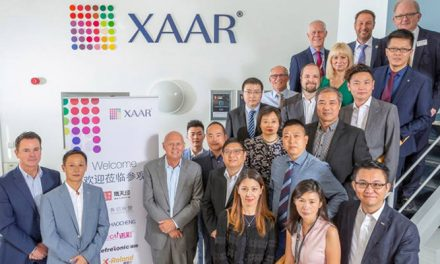 OEM visit strengthens commitment to XAAR 1201 printhead in China