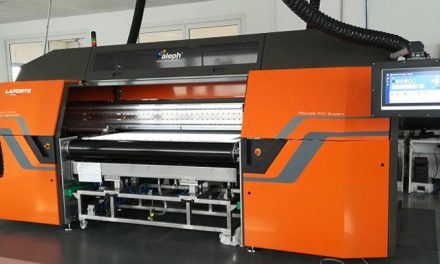 Aleph presents newly updated LaForte printers at SGIA