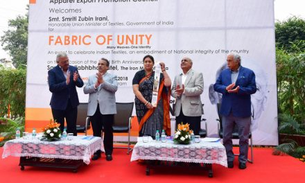 Fabric of Unity commemorates the Indian textiles industry