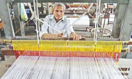 Silk khadi project in West Bengal