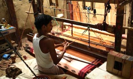 Skill building programme for weavers in Tamil Nadu