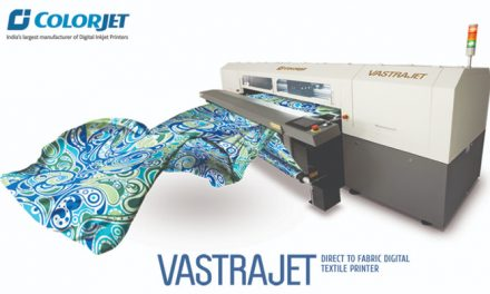 ColorJet to present digital textile printer Vastrajet at DTG-2019