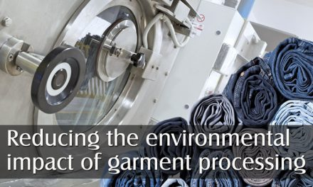 Reducing the environmental impact of garment processing