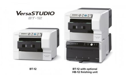 Roland unveils new direct-to-garment printer 'VersaSTUDIO BT-12'