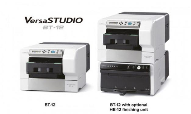 Roland unveils VersaSTUDIO BT-12 direct-to-garment printer