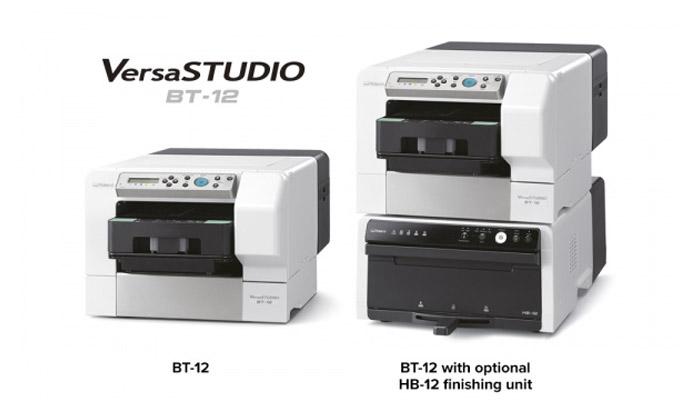 Roland unveils new direct-to-garment printer 'VersaSTUDIO BT-12'