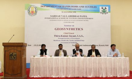 Seminar on Geosynthetics for Tamilnadu Government Officials