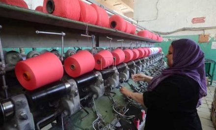 China building Egypt's largest textile city