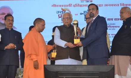 Mukesh Kansal gets first prize in State Export Promotion award