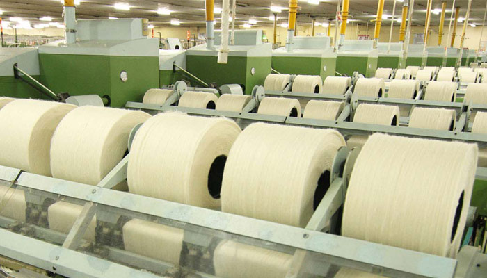 Bright spot in textiles With increasing yarn production