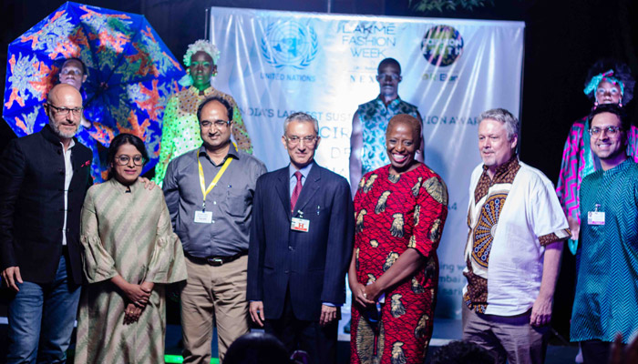 'Circular Design Challenge' winner presents collection at UN Environment Assembly in Nairobi