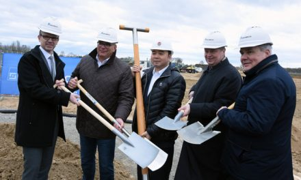 Groundbreaking ceremony for new PFAFF KSL-facility