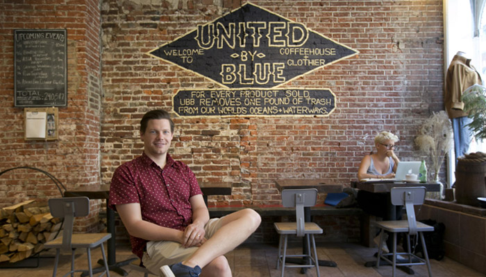United by Blue's sales increases