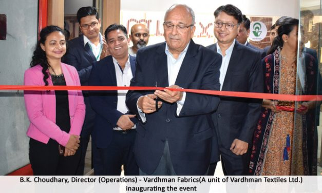 Vardhman organises 3rd edition of Textrum show in Gurugram