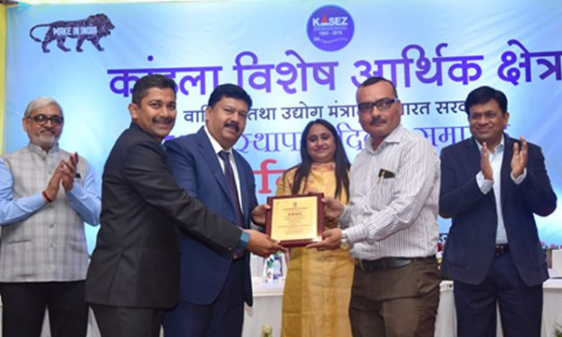 Huntsman's Kandla warehouse wins highest exporter award