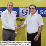 Om Satya and Alliance Embroidery join hands to form Yuemei India