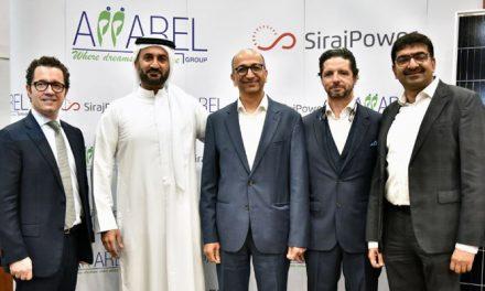 UAE Apparel Group strikes clean energy deal