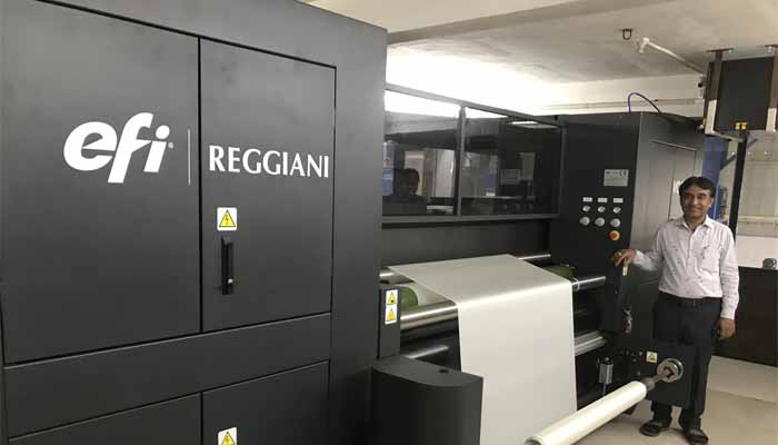 Arrow installs latest EFI-Reggiani Vogue at Om Fab