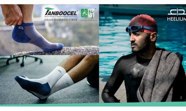 Heelium offers innovative bamboo socks & towel range