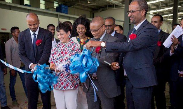 KPR Mill opens factory in Ethiopia