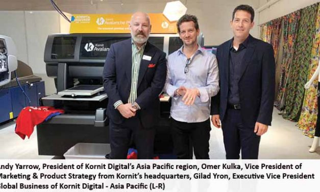 Kornit Discover Event – Highlights business opportunities in digital textile transformation