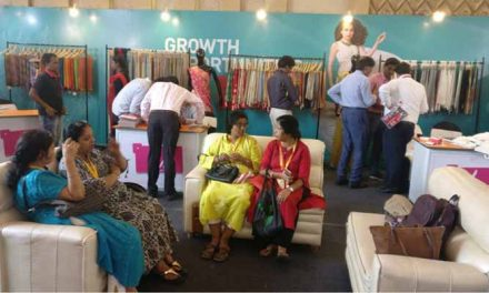 LIVA presents sarees at Kolkata Fabric Expo